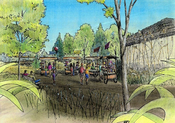 Drawings Columbus Zoo Chris Kepes Architecture