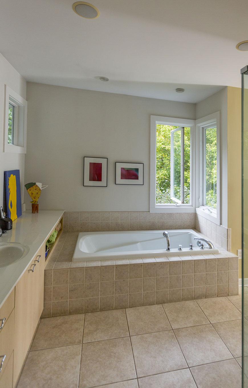 Modern bathroom by Chris Kepes